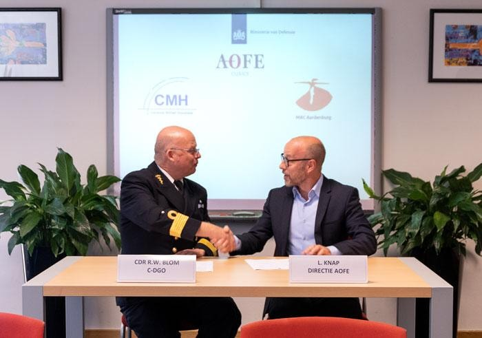 Dutch Military signs Osseointegration Hub
